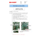 Sharp MX-M266N, MX-M316N, MX-M356N (serv.man97) Technical Bulletin