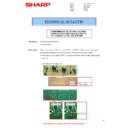 Sharp MX-M310, MX-M310N (serv.man27) Technical Bulletin