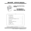 Sharp MX-M310, MX-M310N (serv.man3) Service Manual