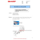 Sharp MX-M310, MX-M310N (serv.man30) Technical Bulletin