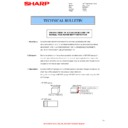 Sharp MX-M310, MX-M310N (serv.man34) Technical Bulletin