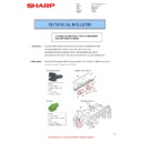 Sharp MX-M310, MX-M310N (serv.man35) Technical Bulletin
