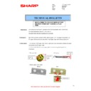 Sharp MX-M310, MX-M310N (serv.man38) Technical Bulletin