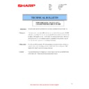 Sharp MX-M310, MX-M310N (serv.man39) Technical Bulletin