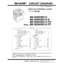 Sharp MX-M310, MX-M310N (serv.man4) Service Manual