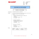 Sharp MX-M310, MX-M310N (serv.man46) Technical Bulletin