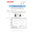 Sharp MX-M310, MX-M310N (serv.man47) Technical Bulletin