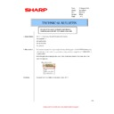 Sharp MX-M310, MX-M310N (serv.man49) Technical Bulletin