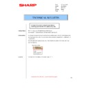 Sharp MX-M310, MX-M310N (serv.man51) Technical Bulletin