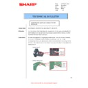 Sharp MX-M310, MX-M310N (serv.man52) Technical Bulletin
