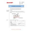 Sharp MX-M310, MX-M310N (serv.man56) Technical Bulletin