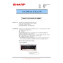 Sharp MX-M623U, MX-M753U (serv.man26) Technical Bulletin