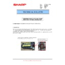 Sharp MX-M623U, MX-M753U (serv.man33) Technical Bulletin