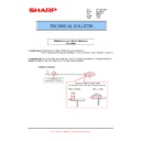 Sharp MX-M623U, MX-M753U (serv.man34) Technical Bulletin