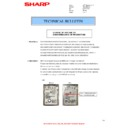 Sharp MX-M623U, MX-M753U (serv.man36) Technical Bulletin