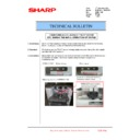 Sharp MX-M623U, MX-M753U (serv.man40) Technical Bulletin