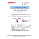 Sharp MX-M623U, MX-M753U (serv.man41) Technical Bulletin