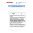 Sharp MX-M623U, MX-M753U (serv.man43) Technical Bulletin