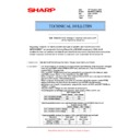 Sharp MX-M623U, MX-M753U (serv.man46) Technical Bulletin