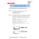 Sharp MX-M623U, MX-M753U (serv.man47) Technical Bulletin