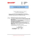 Sharp MX-M623U, MX-M753U (serv.man48) Technical Bulletin