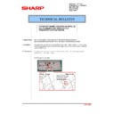 Sharp MX-M623U, MX-M753U (serv.man50) Technical Bulletin