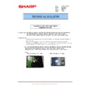 Sharp MX-M623U, MX-M753U (serv.man51) Technical Bulletin