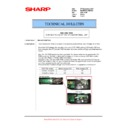 Sharp MX-M623U, MX-M753U (serv.man54) Technical Bulletin