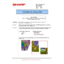 Sharp MX-M623U, MX-M753U (serv.man55) Technical Bulletin