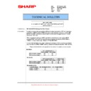 Sharp MX-M623U, MX-M753U (serv.man56) Technical Bulletin