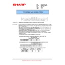 Sharp MX-M623U, MX-M753U (serv.man57) Technical Bulletin