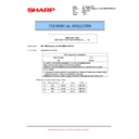 Sharp MX-M623U, MX-M753U (serv.man58) Technical Bulletin