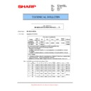 Sharp MX-M623U, MX-M753U (serv.man59) Technical Bulletin