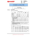 Sharp MX-M623U, MX-M753U (serv.man60) Technical Bulletin