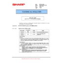 Sharp MX-M623U, MX-M753U (serv.man61) Technical Bulletin