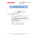 Sharp MX-M623U, MX-M753U (serv.man62) Technical Bulletin