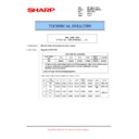 Sharp MX-M623U, MX-M753U (serv.man63) Technical Bulletin