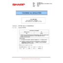 Sharp MX-M623U, MX-M753U (serv.man64) Technical Bulletin