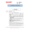 Sharp MX-M623U, MX-M753U (serv.man65) Technical Bulletin