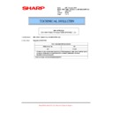 Sharp MX-M623U, MX-M753U (serv.man66) Technical Bulletin