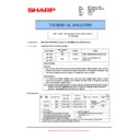 Sharp MX-M623U, MX-M753U (serv.man68) Technical Bulletin