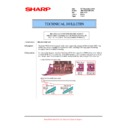 Sharp MX-M623U, MX-M753U (serv.man69) Technical Bulletin