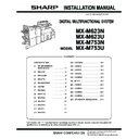 Sharp MX-M623U, MX-M753U (serv.man7) Service Manual