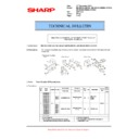 Sharp MX-M623U, MX-M753U (serv.man70) Technical Bulletin