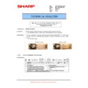Sharp MX-M623U, MX-M753U (serv.man72) Technical Bulletin