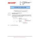 Sharp MX-M623U, MX-M753U (serv.man73) Technical Bulletin