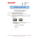 Sharp MX-M623U, MX-M753U (serv.man74) Technical Bulletin