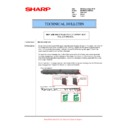 Sharp MX-M623U, MX-M753U (serv.man75) Technical Bulletin