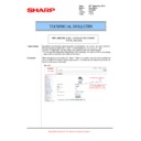 Sharp MX-M623U, MX-M753U (serv.man76) Technical Bulletin