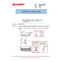 Sharp MX-M623U, MX-M753U (serv.man78) Technical Bulletin